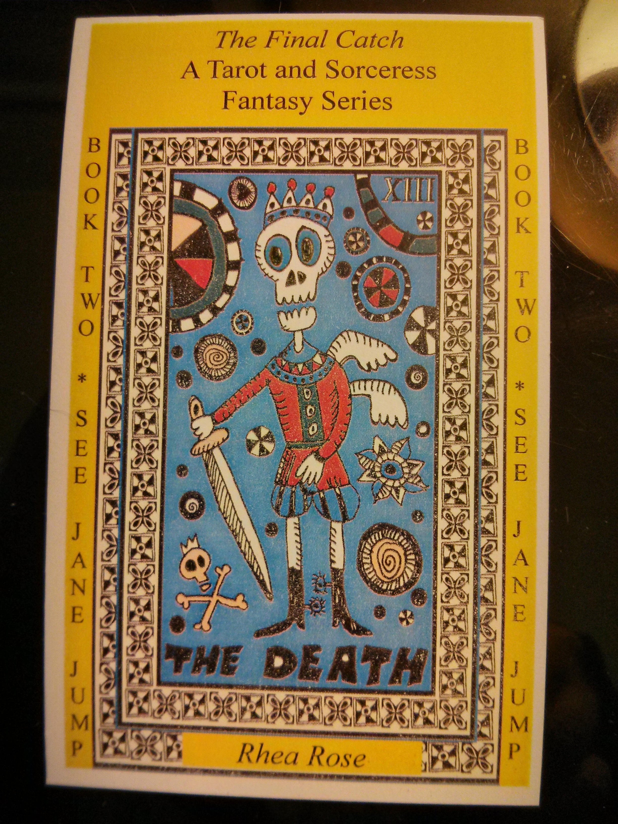 Death Card for blog